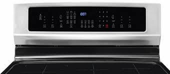 Electrolux Controls. best induction stove
