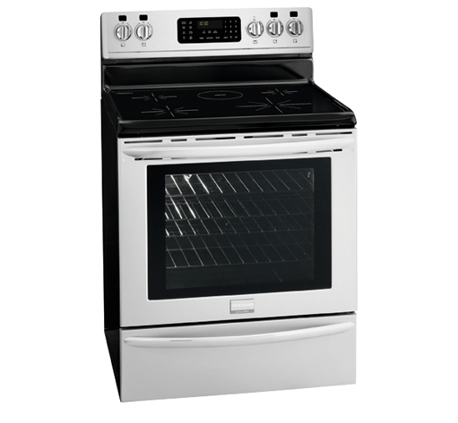 Frigidaire Gallery Stove Bosch slide-in induction range review