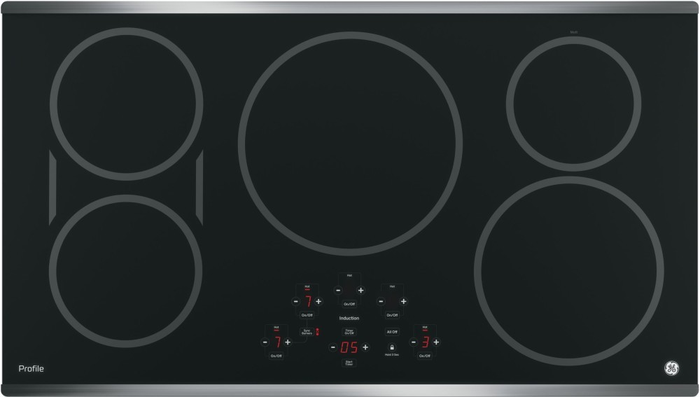 GE 36 Inch Profile Induction Cooktop