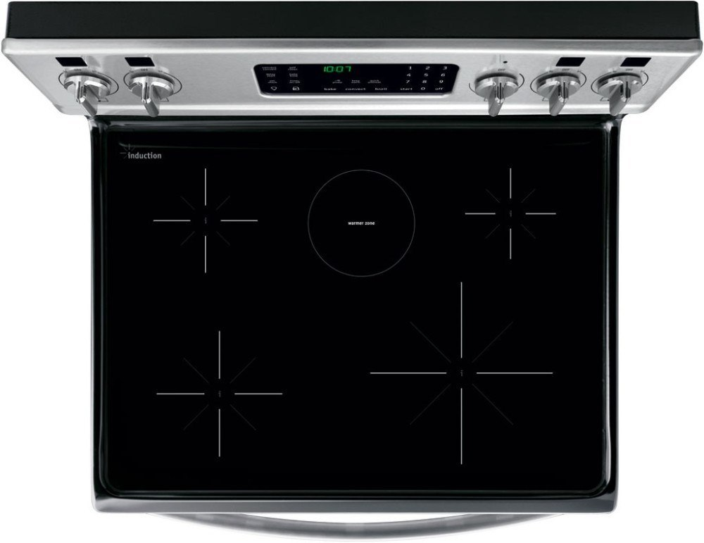 frigidaire best induction stove top view