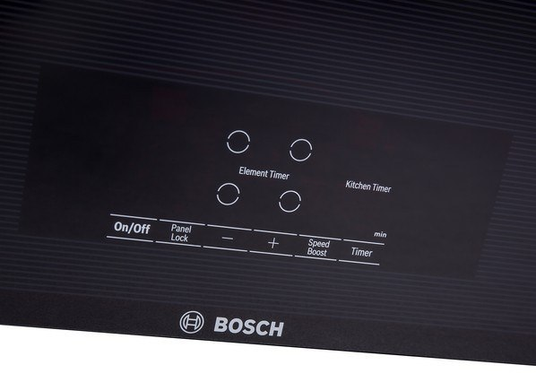Bosch 30-Inch 500 Series Control Panel bosch induction cooktop reviews