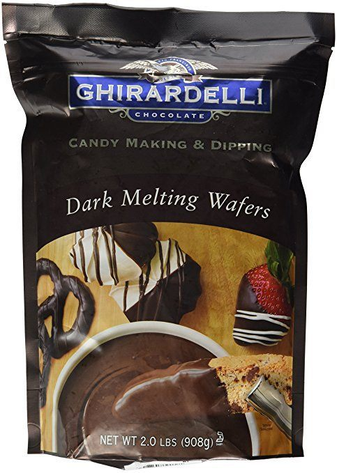 ghirardelli melted chocolate