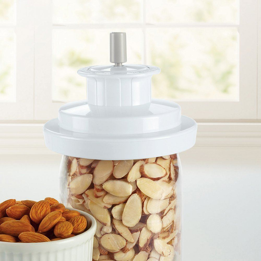 food vacuum sealer jar attachment