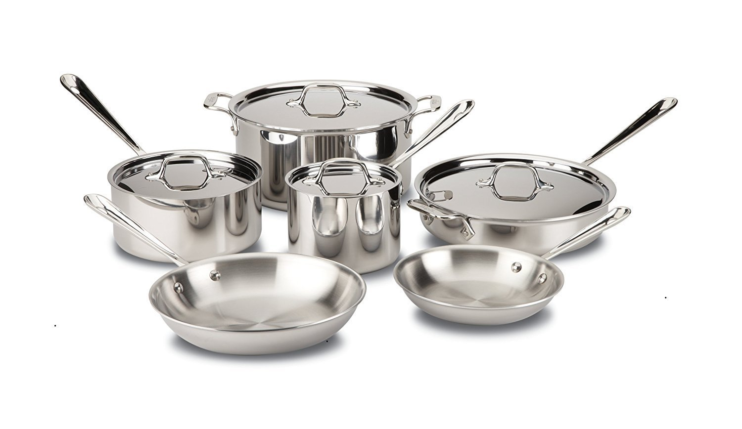 allclad10pcset induction cookware