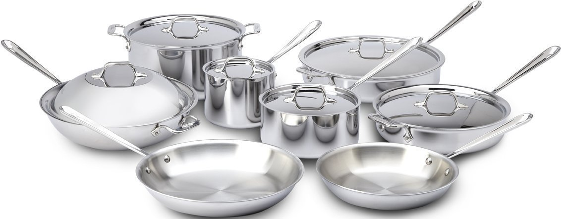 allclad14pc induction cookware