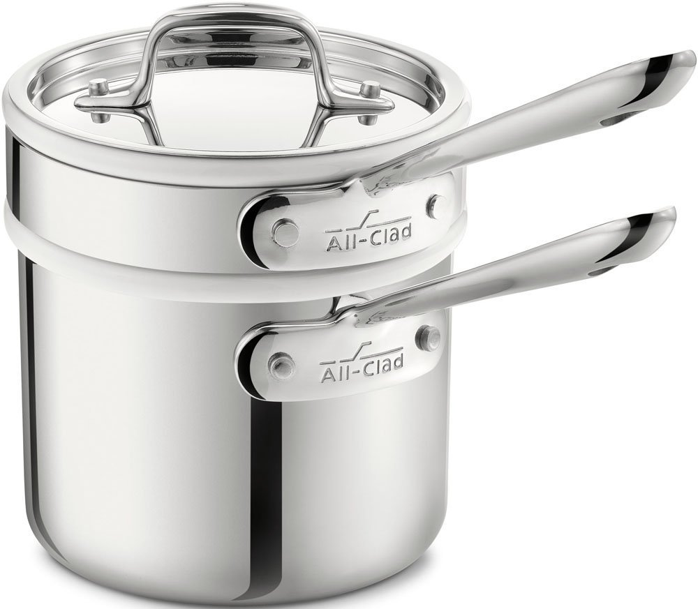 double boiler induction cookware