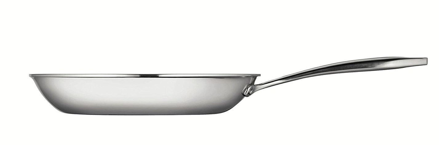 side view flared rim of induction cookware