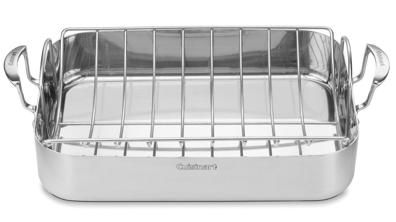 cuisinart roasting pan induction cookware