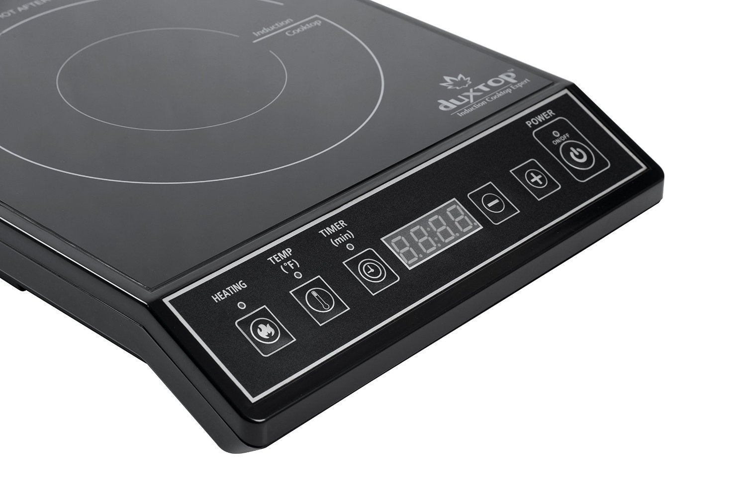 duxtop induction cooktop 9100mc controls