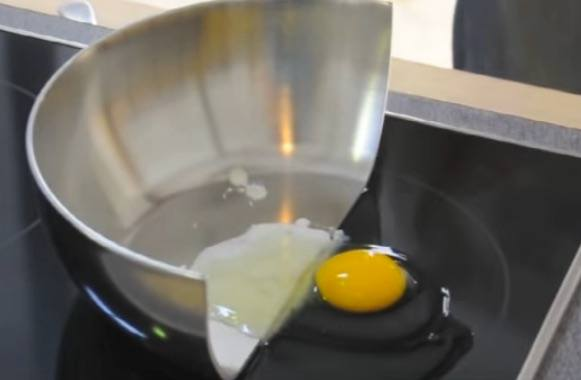 inductionEggFrying induction cooktop pros and cons