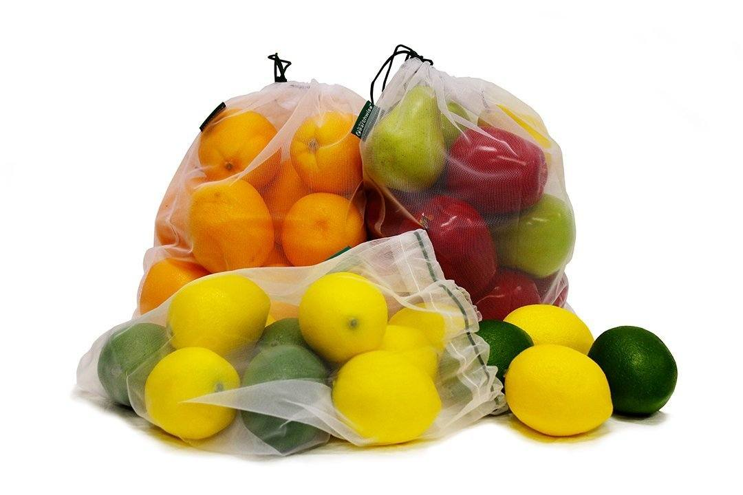 reusable produce bags food freshness labels