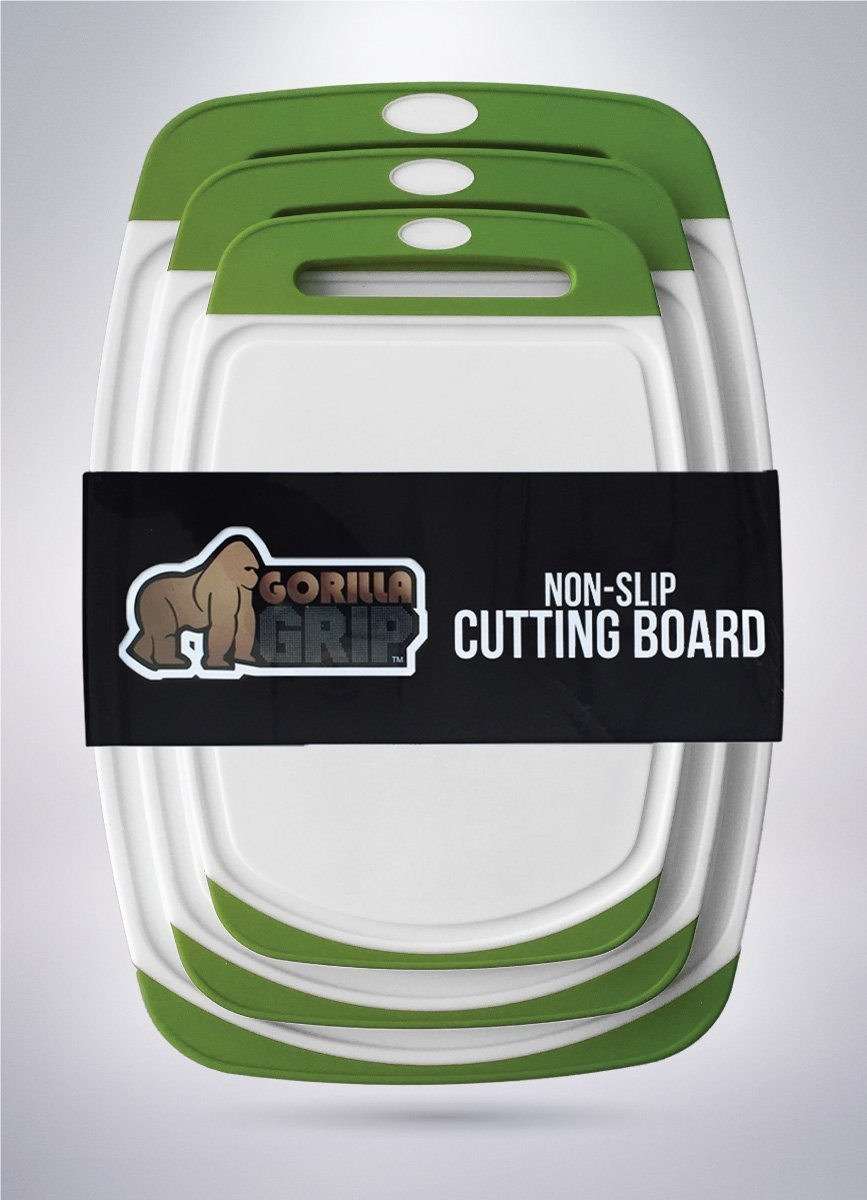 Gorilla Grip Cutting Board Set