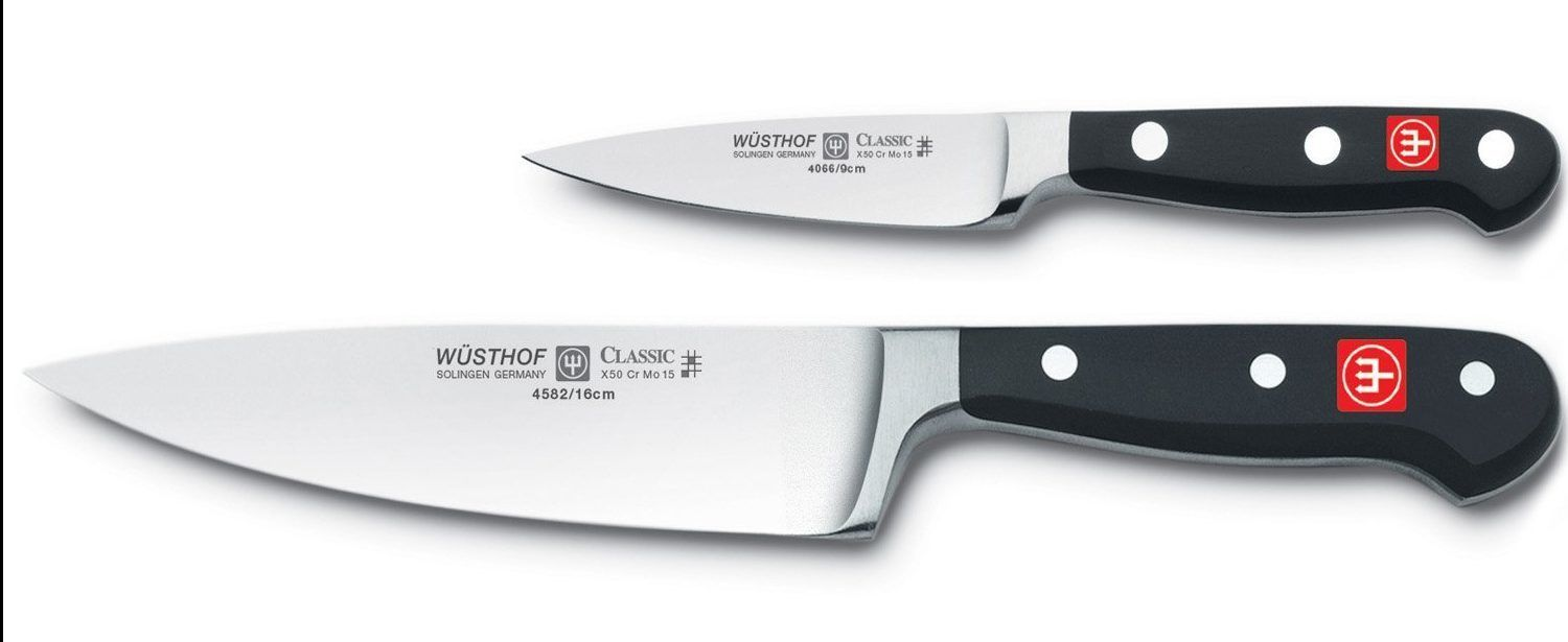Wusthof 2 piece Chef Knife set