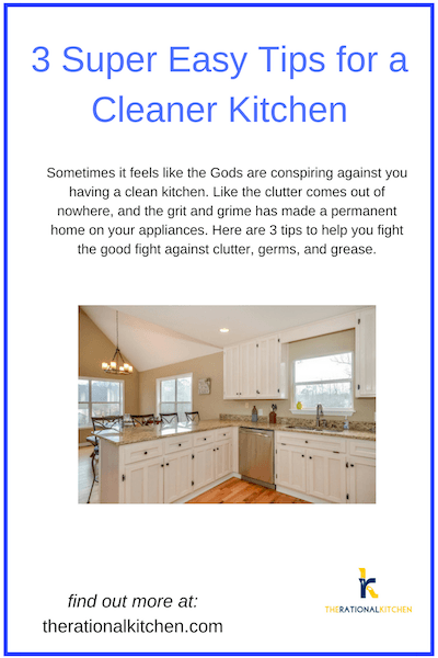 3EasyTipsCleanerKitchenPinterest