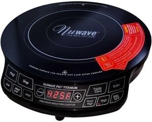 NuWave Titanium portable induction cooktop