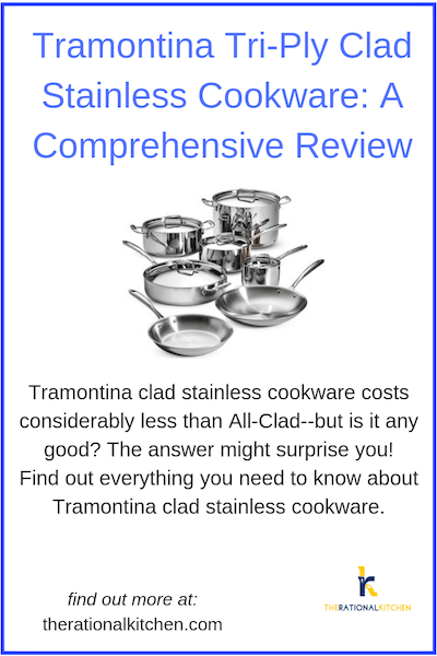 Tramontina Tri-Ply Clad Stainless Cookware: A Comprehensive Review