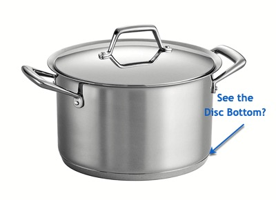 Tramontina Tri Ply Clad Cookware A