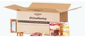 Why Shop on Amazon? Prime Pantry box