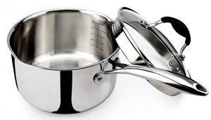 Avacraft Saucepan with Strainer Lid