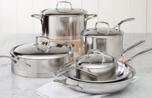 Demeyere Atlantis 10 pc set: Top 5 Brands of Clad Stainless Cookware (And Why You Should Buy Stainless)