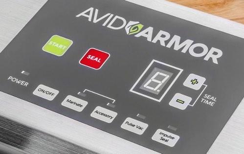 Avid Armor A100 Control Panel